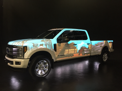 Ford F-Series Super Duty : 3D Projection Mapping