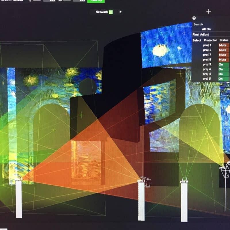 AGO: Mystical Landscapes: Monet & Van Gogh 3D Projection